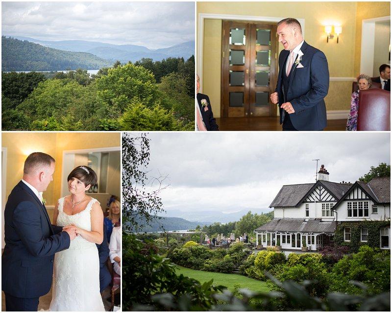Wedding Photographer Linthwaite House Wedding Cumbria