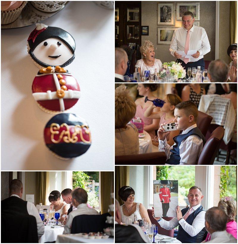 Wedding Breakfast at Linthwaite House Hotel Cumbria