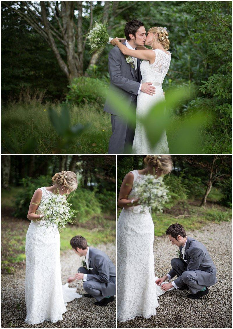 Wedding Photographer Coniston Cumbria Bride and Groom