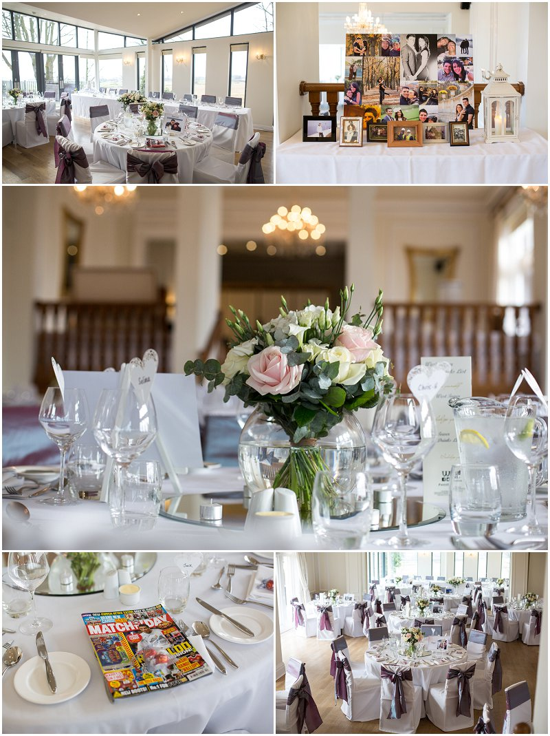 Wedding Details at West Tower Wirral