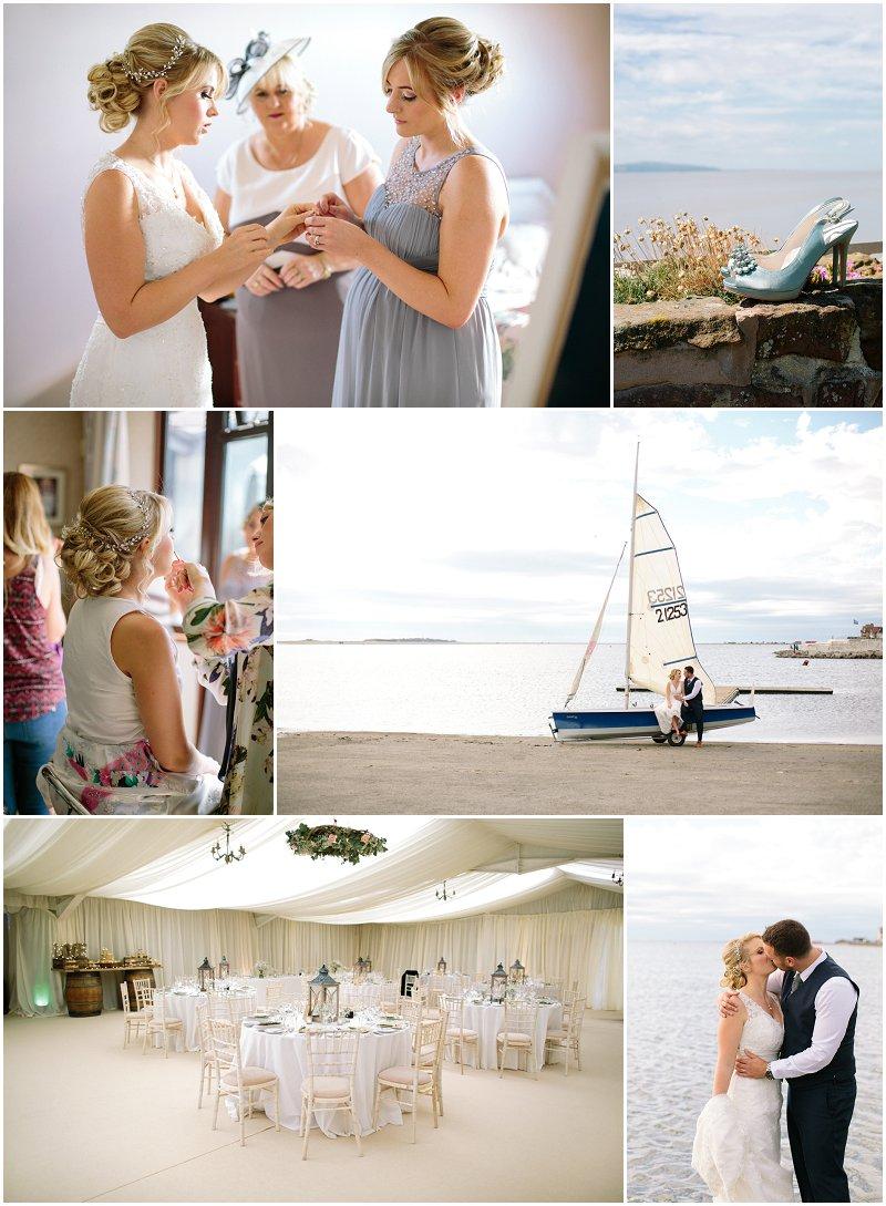 Wedding Photographer Liverpool Sailing Club