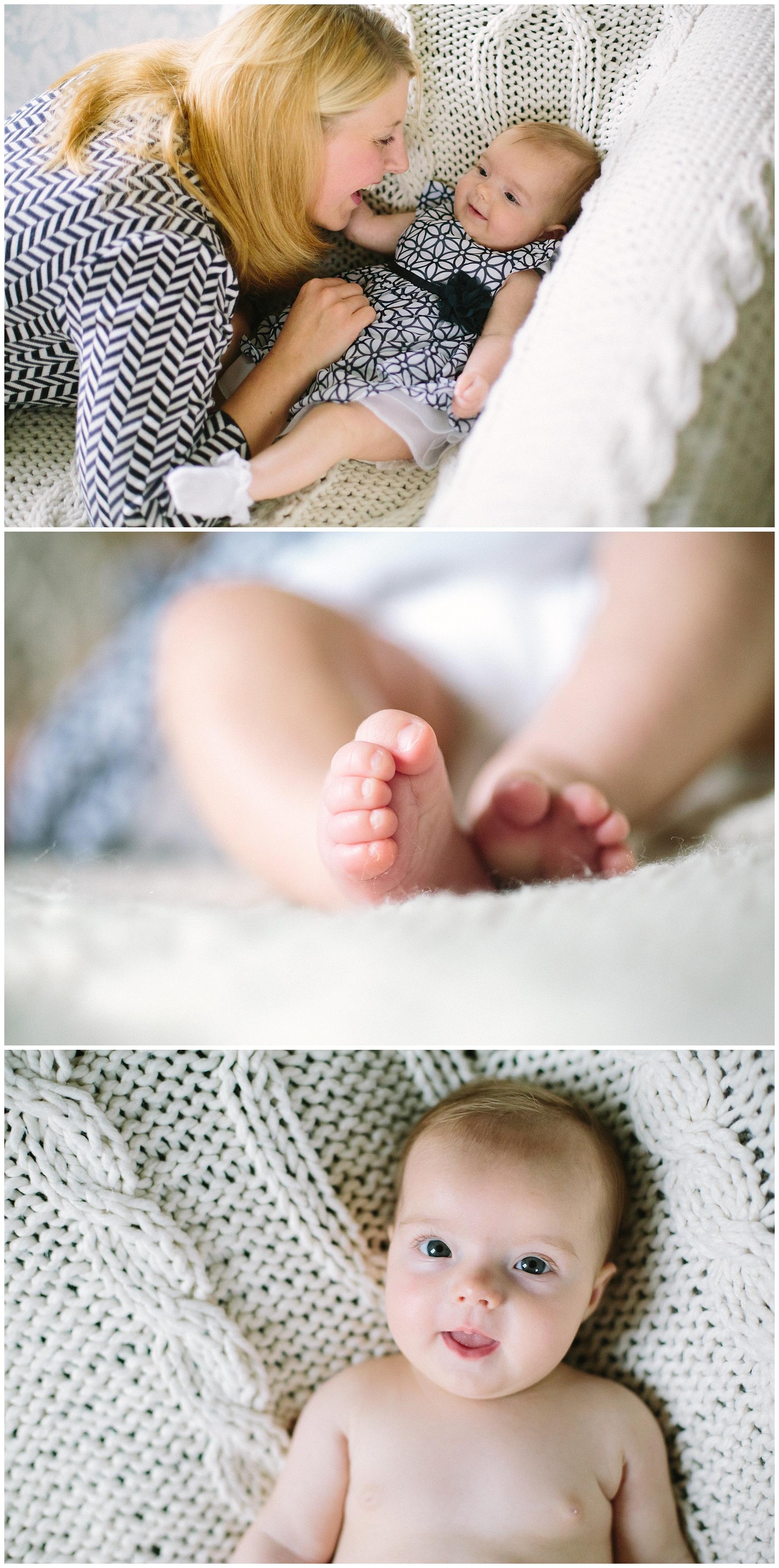 baby during photoshoot Lancashire
