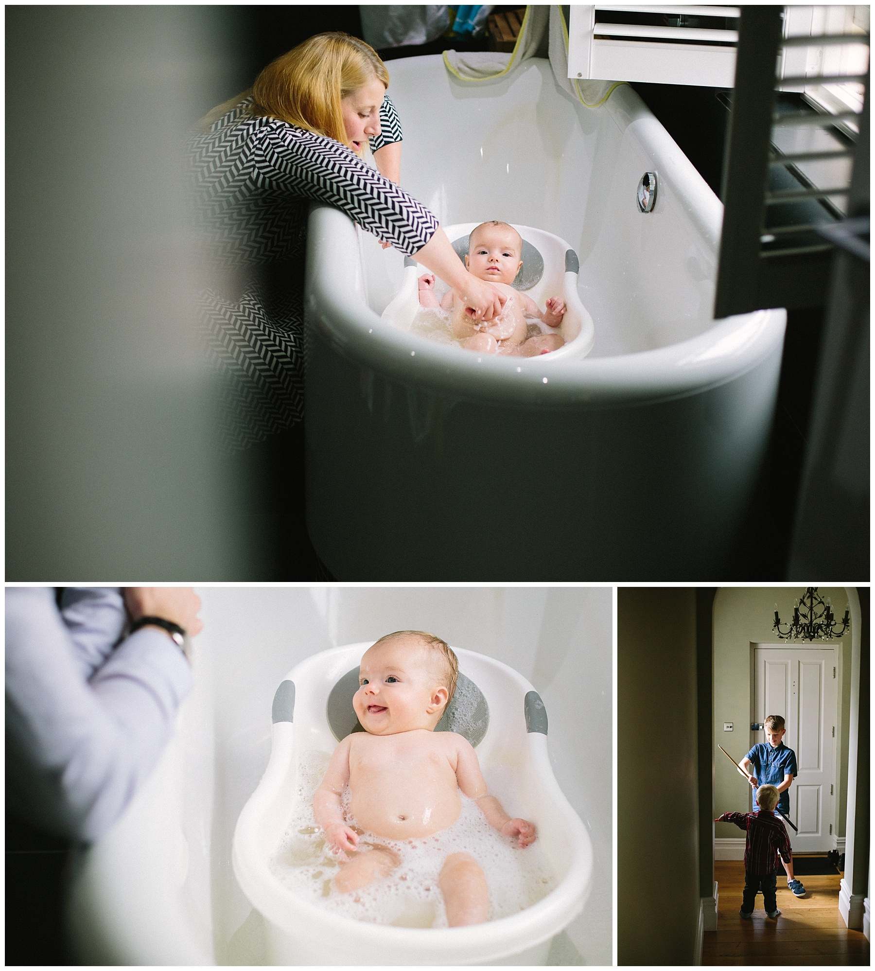 Lifestyle photographer Lancashire, Baby hotoraphy in bath