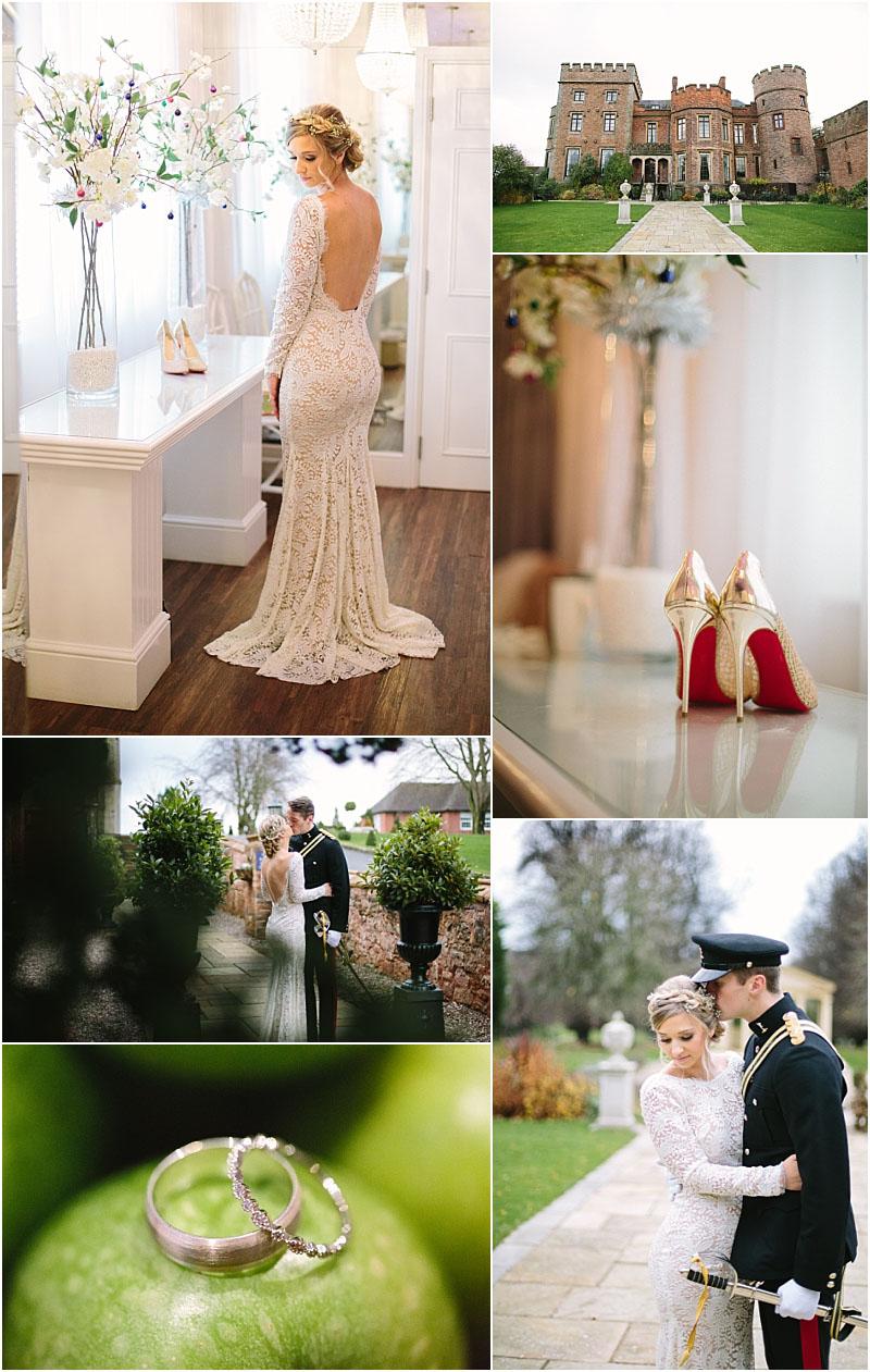 Wedding at Rowton Castle Shropshire wedding photographer