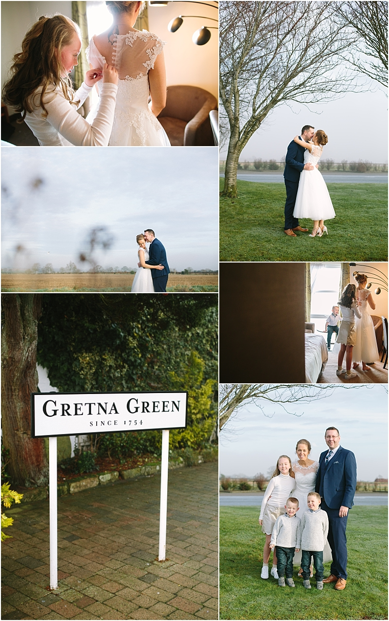 Wedding Photography Gretna Green Natural Beautiful wedding photography