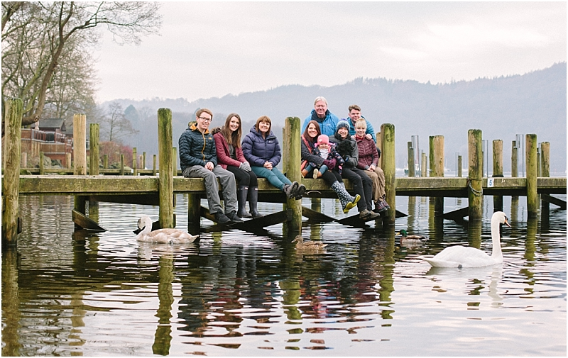 Group family photography Cumbria