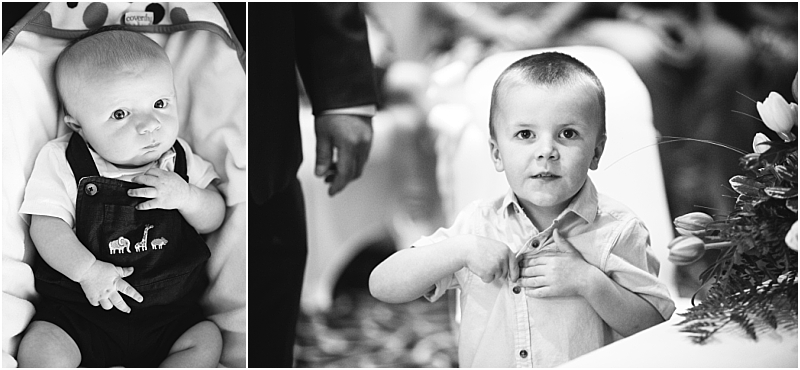 Gorgeous boys of the Bride and Groom