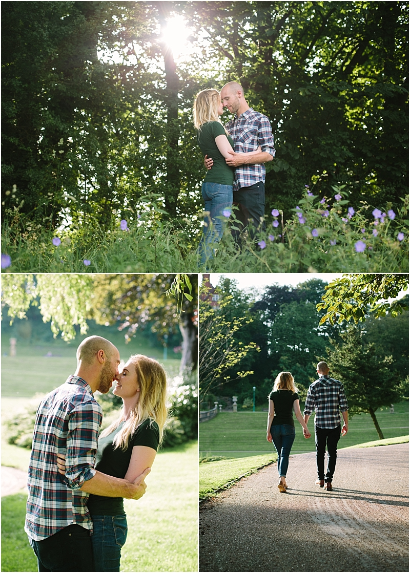 Photography Session during engagement shoot Preston