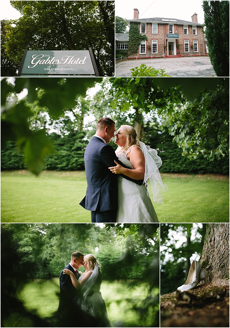 The Gables Gretna Green Wedding Bride and Groom in Scotland