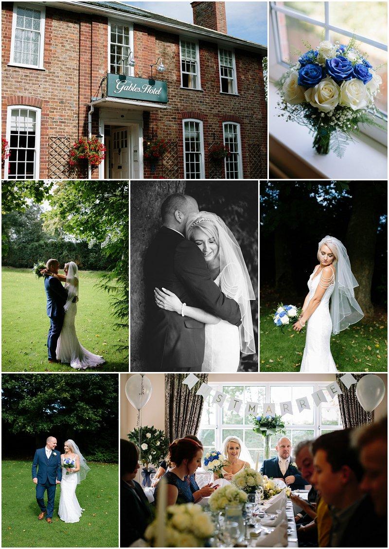 Wedding at Gables hotel Gretna Green Scotland