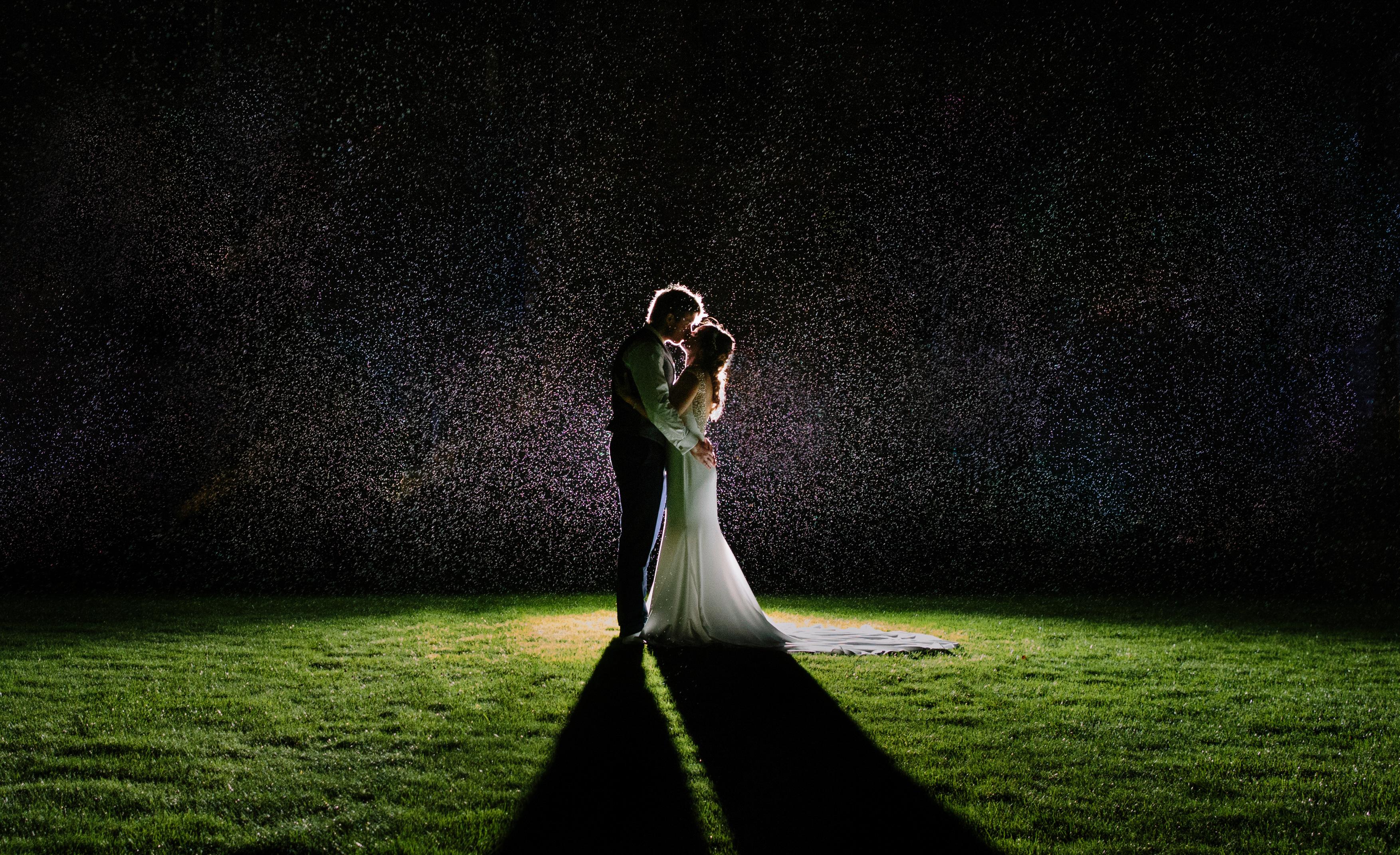 Wedding Photography in Peckforton Castle gardens