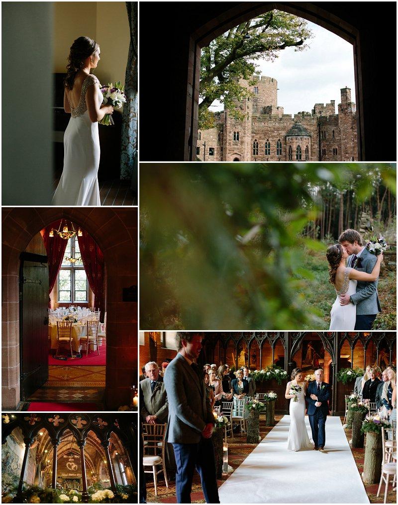 Cheshire Wedding at Peckforton Castle Photography