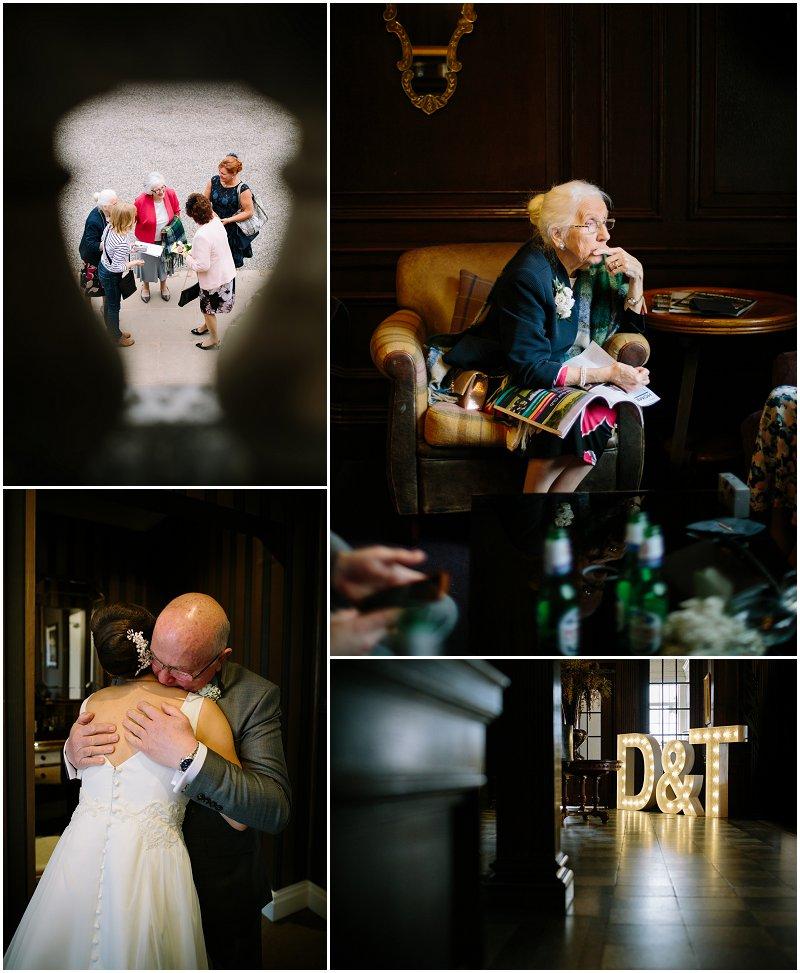 Documentary Wedding photography Eaves Hall Wedding