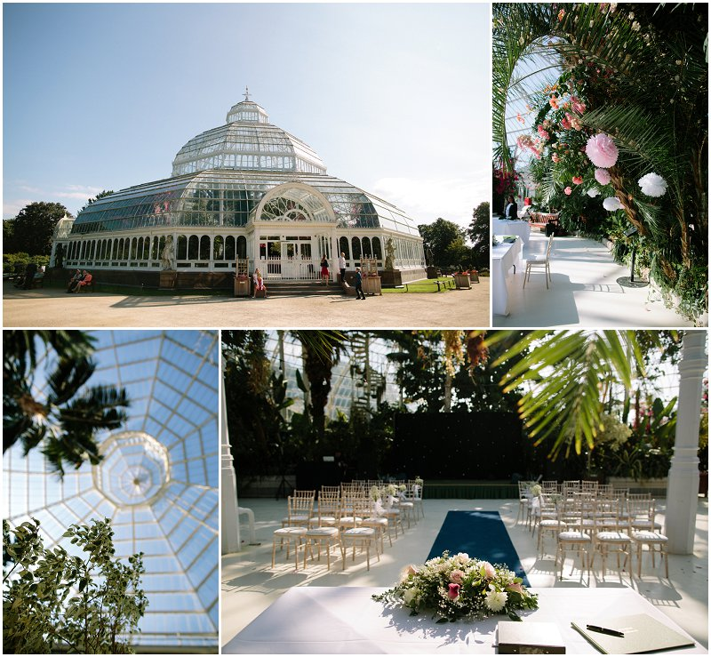 Palm House Wedding Photographer Sefton Park