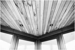 Ceiling in beach house architecture photography