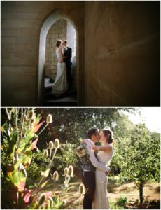 Bride and groom portraits West Yorkshire