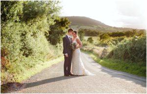 Wedding Photographer Bashall Barn Golden Hour