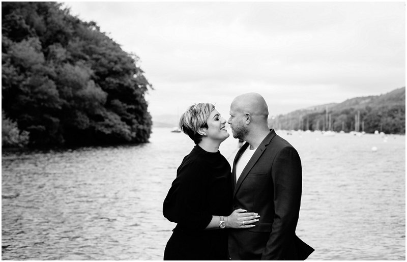 pre wedding photographer Cumbria Windermere