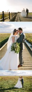 Bride and Groom Lytham Green St Annes