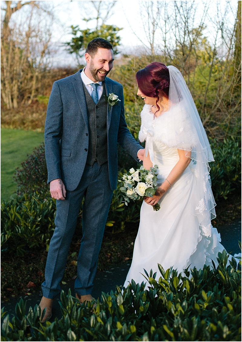 First Look Gretna Green Scotland Wedding