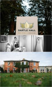 Bartle Hall Wedding bride prep photos