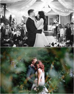 Bride and groom Bartle Hall wedding photos