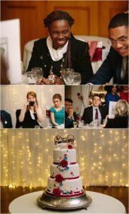 Evening reception Wedding