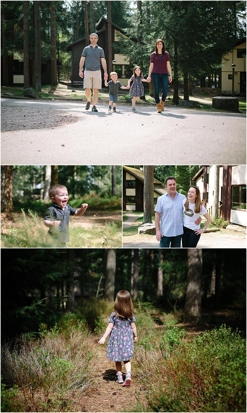 Family Photography Center Parcs Whinfell Forest