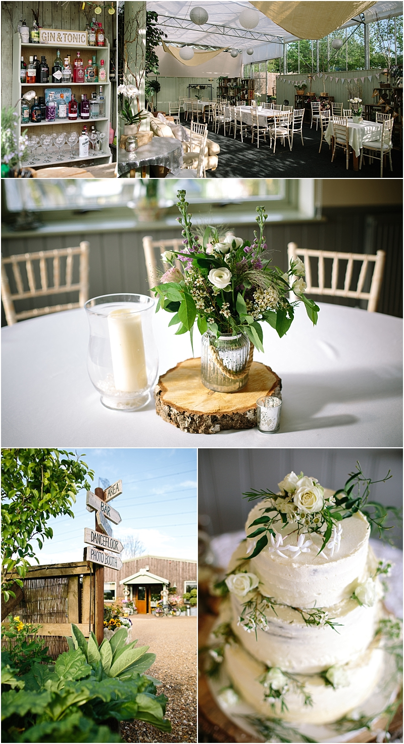 Floral Media wedding reception
