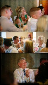 Speeches guest reactions wedding photographer