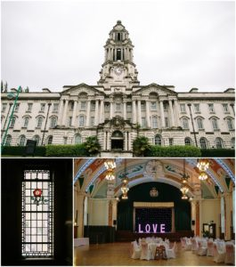 Stockport Town Hall wedding