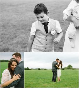 Bride and groom portraits photography