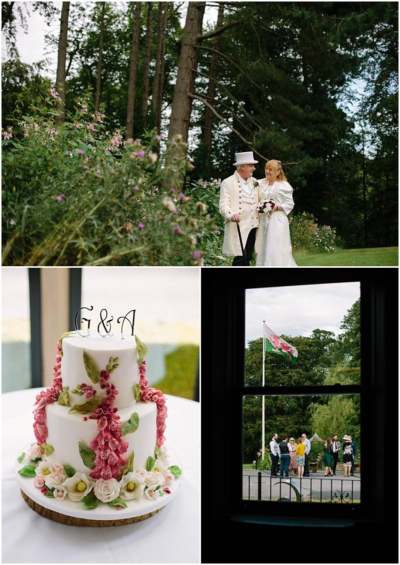 Northop Hall wedding photos