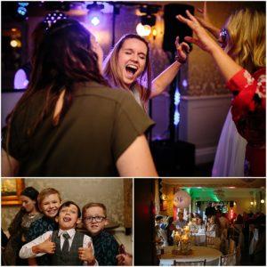 Evening reception at Bartle Hall Preston Lancashire