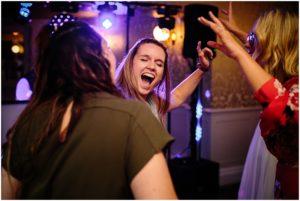 Dancing at Wedding at Bartle Hall