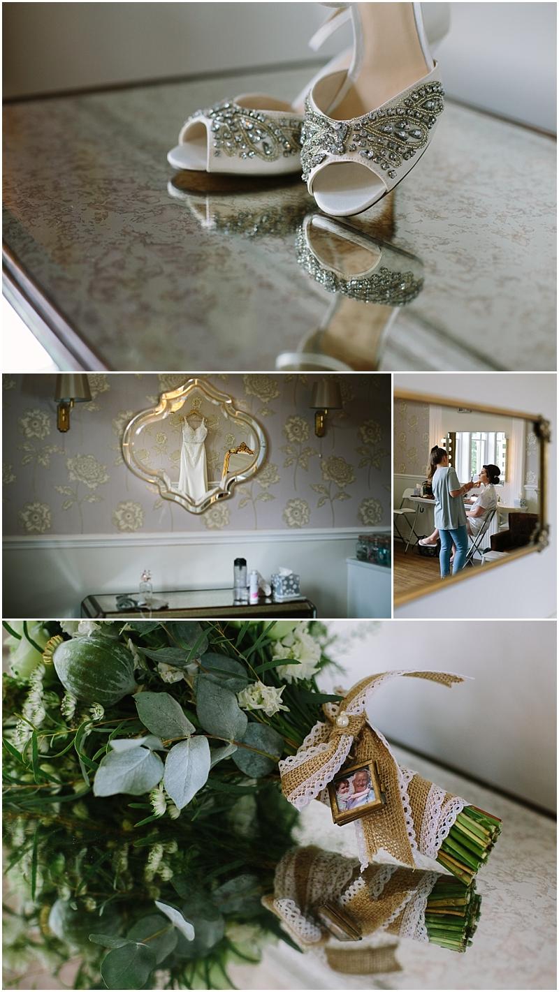 Bride getting ready photos Ashfield