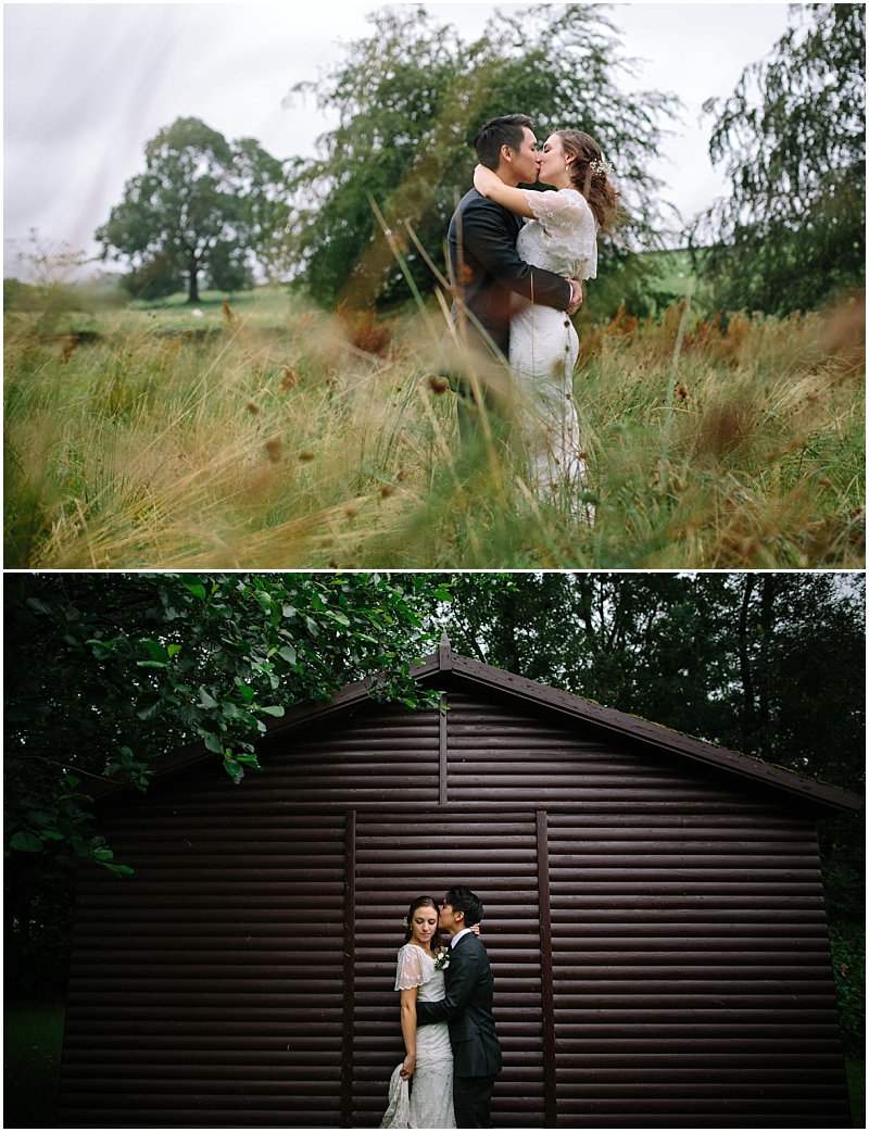 Bride and Groom Portraits Carnforth