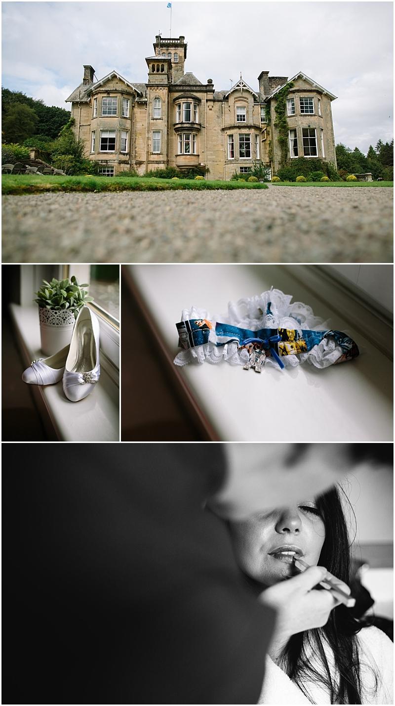 Bridal Prep Photographs Moffat