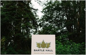 Bartle Hall Wedding venue Lancashire
