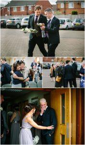 Wedding photography Preston Lancashire ceremony